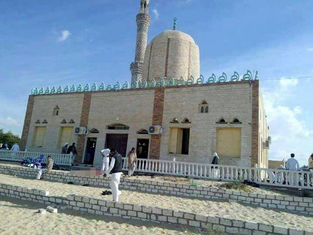 Bir al-Abd Egypt mosque attack