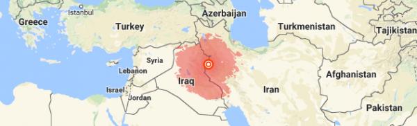 Halabja quake Iraq, Iran