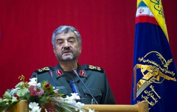 FILE PHOTO: Iran's Revolutionary guards commander Mohammad Ali Jafari . September 6, 2011. REUTERS/Morteza Nikoubazl
