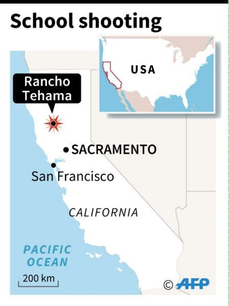 SCHOOL SHOOTING NORTH CALIFORNIA