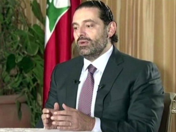 hariri in terview in Riyadh