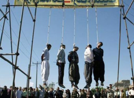These men  were convicted of drug related charges in 2013  and  were hanged in the prison in the Iranian city of Isfahan The prisoners died unnamed. Only the charges and the fact of their execution were mentioned. Iran is the world's second-worst practitioner of capital punishment after China