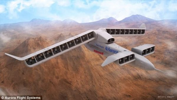 Earlier this year, the first prototype of the LightningStrike, Darpa's vertical take-off and landing experimental aircraft project took to the air - and maybe of its capabilities could be in the new craft.
