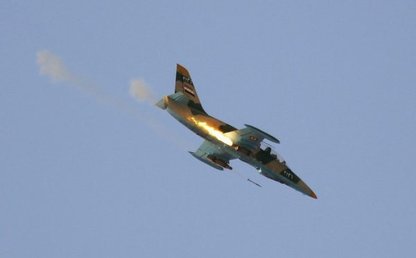 SYRIAN ARMY PLANCE DOWNED