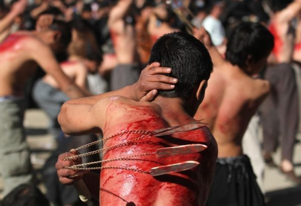 Self-flagellation by Shiite Muslims