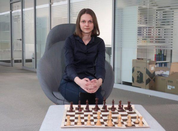 Ukrainian chess grandmaster Anna Muzychuk
