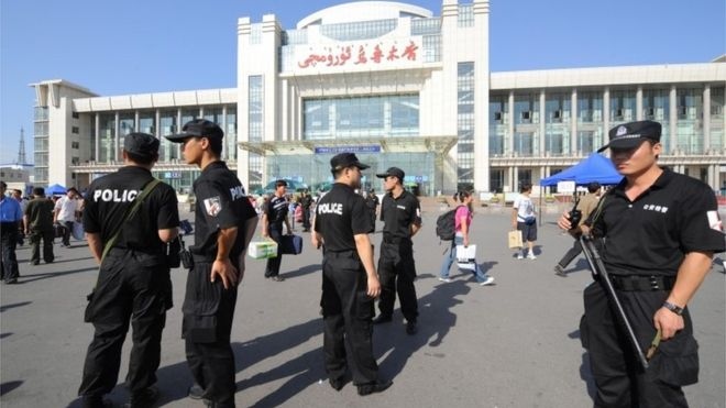 China maintains tight security in Xinjiang province
