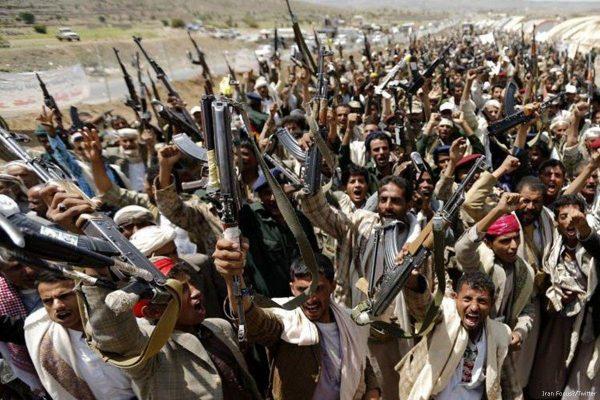 Houthi fighters Sanaa Yemen