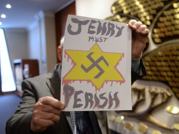 synagogues-hate-mail Jewry must perish