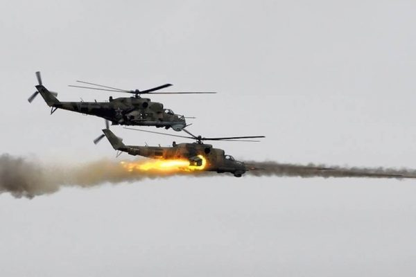 syrian helicopter downed