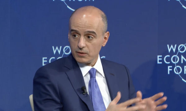 "Adel Al-Jubeir Saudi FM said in Davos""In the Middle East, we have two competing visions. Vision of light ...and a vision of darkness, which Tehran has been promoting  . But ""History has shown that light always prevails over darkness."""