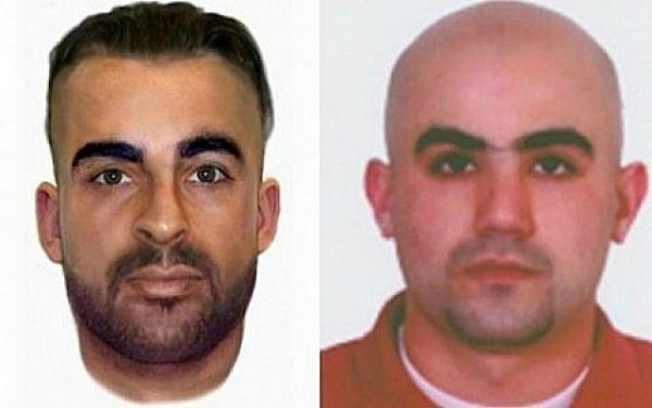 These head-shots provided by the Bulgarian Interior Ministry shows Canadian citizen Hassan El Hajj Hassan, right, and Australian citizen Meliad Farah, also known as Hussein Hussein, left, both suspected of being involved in the July 2012 Burgas bombing. (photo credit: courtesy Bulgarian Interior Ministry)