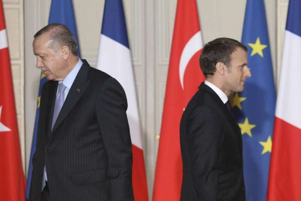 At a press conference with Turkish President Recep Tayyip Erdogan in Paris, Emmanuel Macron said Friday that political developments in Turkey were blocking the country's EU accession bid,  JANUARY 5, 2018