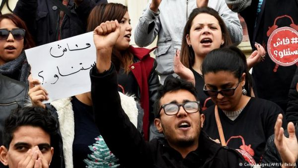 Tunisians have held rallies across the country to protest the government's new austerity measures, aimed at minimizing the country's deficit. The Tunisian people have become increasingly angry since the government said it would increase the price of petrol, some goods, and taxes on cars, phone calls, the internet, hotel accommodation and other items from January 1.