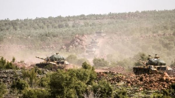 Turkey launched an offensive to drive a Kurdish militia out of the Afrin region on Saturday