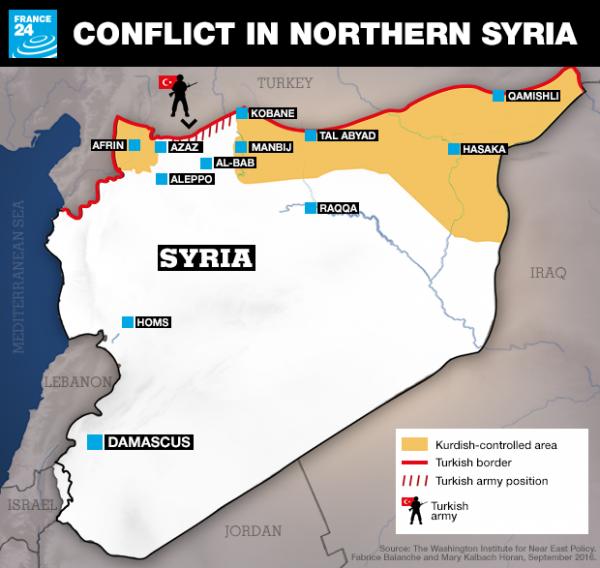 afrin enclave north syria