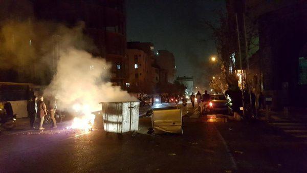 anti govt riots iran