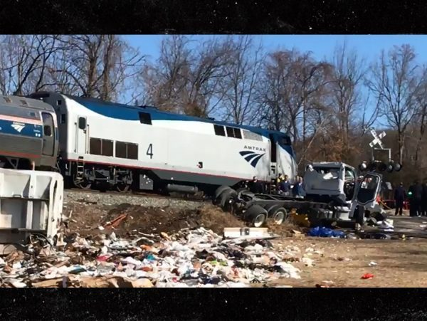 Train Crash Car Train carrying Republi...