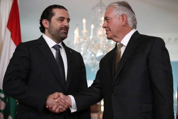 Tillerson Hariri