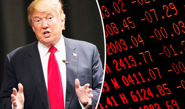 U.S. President Donald Trump Trump goes silent on role in markets after Dow suffered its biggest point drop in history