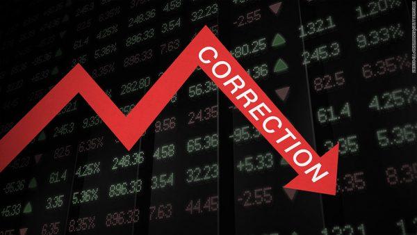 dow correction