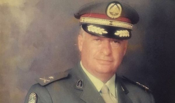 file photo of former judicial police chief Brigadier General Issam Abu Zaki