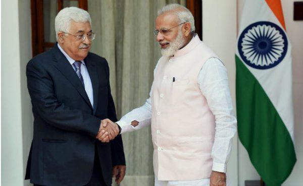 Palestinian President Mahmoud Abbas had met PM Modi in Delhi last year (File Photo)