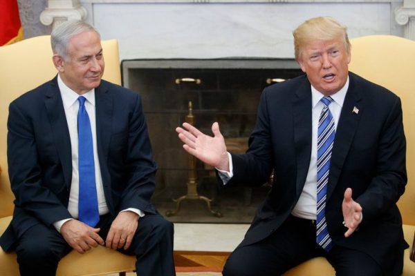 President Trump and Prime Minister Benjamin Netanyahu of Israel