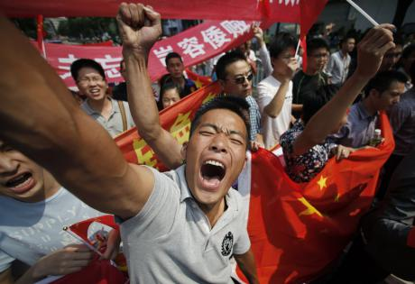 labour protests in China . Iit is against the law to go on strike in China