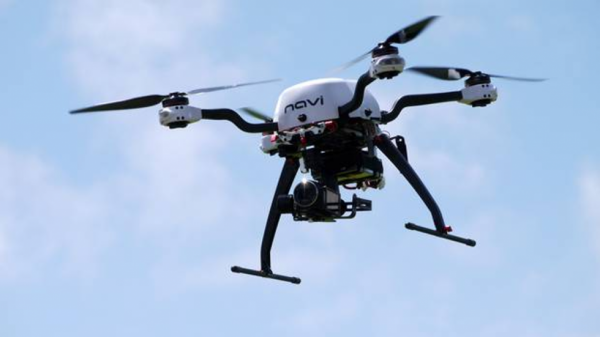 Saudi Arabian security forces said they had shot down a recreational drone in the capital on Saturday night after online videos showing gunfire in a neighbourhood where royal palaces are located sparked fears of possible political unrest.