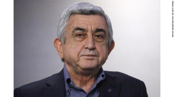 Armenia's Prime Minister Serzh Sargsyan