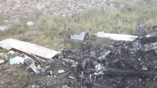 Israeli military confirms drone crashed in southern Lebanon