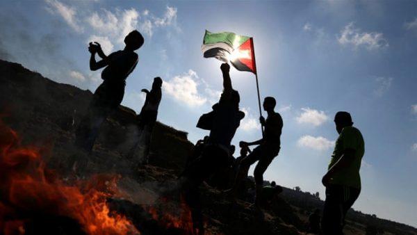 palestinian protest Gaza
