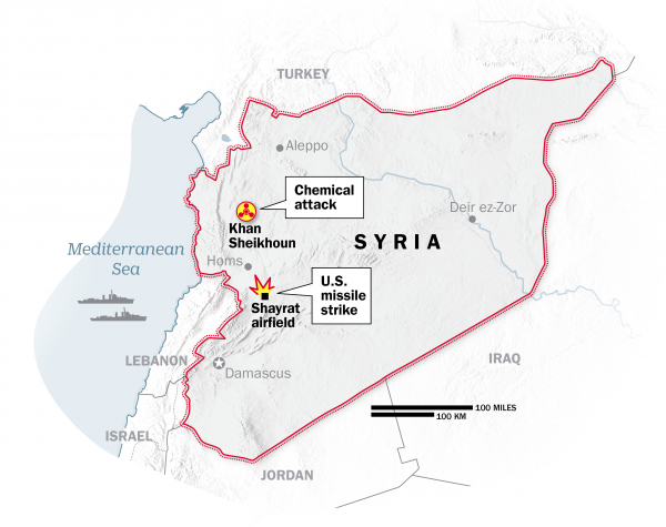 syria-missile-attack april 2018