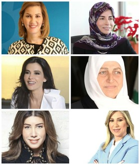Lebanese female MPs