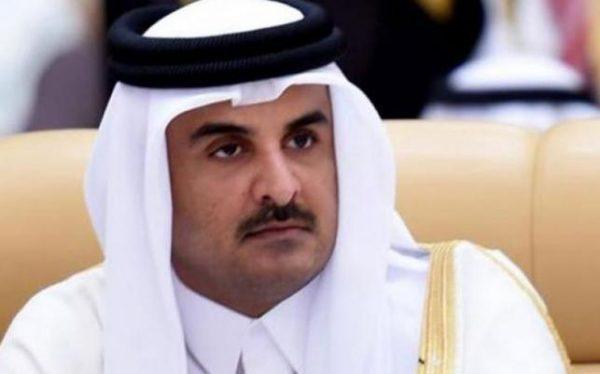 Qatar's emir, Sheikh Tamim bin Hamad Al-Thani.