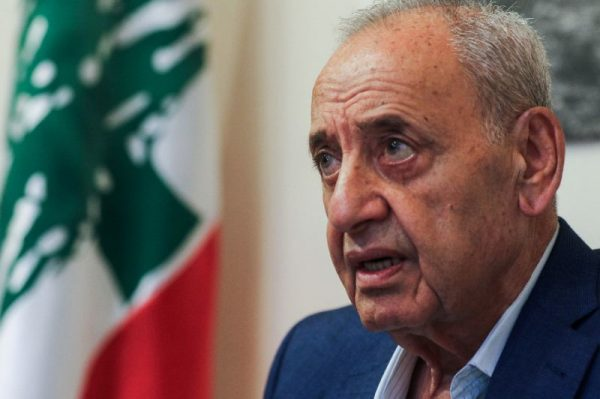 Lebanon's long-serving parliament speaker Nabih Berri was reelected for sixth term following the May election