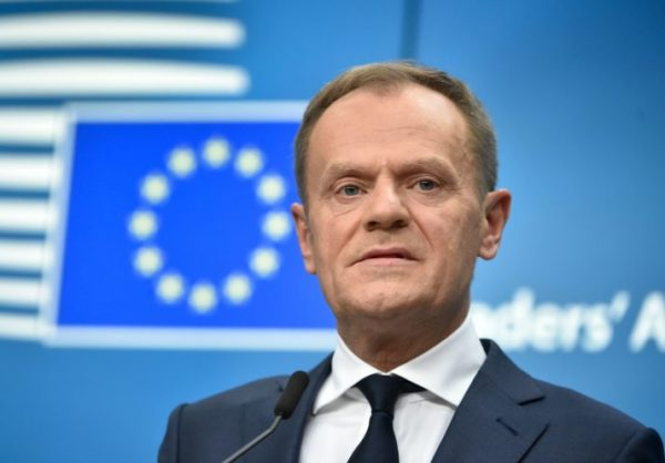 President of European Council Donald Tusk said Europe didn't need enemies when it had friends like the United States. And he exhorted European leaders not to be reliant on Washington.