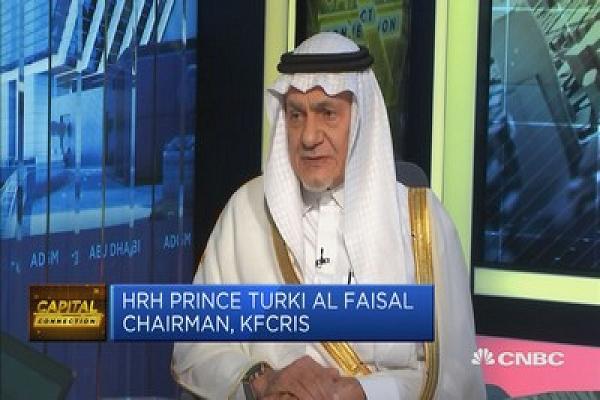 Saudi Arabian Prince Turki Al-Faisal