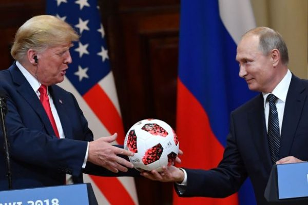 """Russian President Vladimir Putin's gift of a soccer ball to U.S. President Donald Trump last week set off a chorus of warnings  ir could be bugged. Republican Senator Lindsey Graham even tweeted, """"I'd check the soccer ball for listening devices and never allow it in the White House."""""""