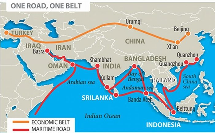 In 2013, Chinese President Xi Jingping proposed to revive the Silk Road by developing a transportation network that would link China to the rest of the world. This flagship project called the Belt and Road Initiative (BRI) combines two main roadmaps. The first component is the Silk Road Economic Belt which is a land-based travel route that runs through six corridors and covers most of the nations in Asia and Europe.