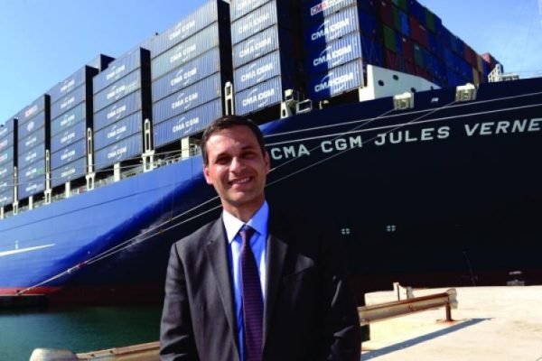 Rodolphe Saadé,  chairman of the CMA CGM Group that is the largest member of the Ocean Alliance. Credit: CMA CGM