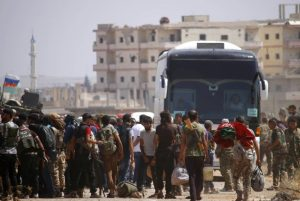 A deal was reached on Tuesday for the evacuation of two pro-regime towns in Syria, allowing thousands to leave after three years of encirclement by hardline rebels.