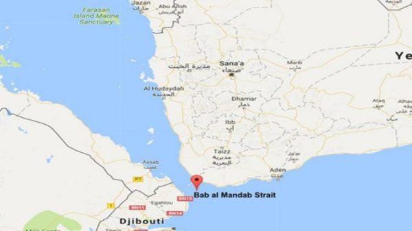 Bab-Al-Mandab map