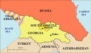 South Ossetia and Abkhazia, Georgian territories occupied by Russia in 2008