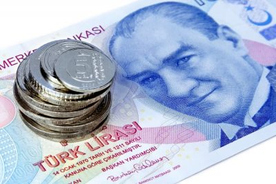 TURKISH LIRA CONTINUES TO FALL