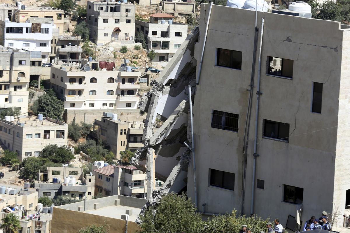 damaged building salt jordan