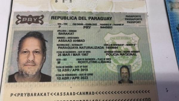 Assad Ahmad Barakat ID