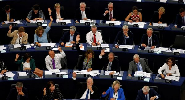 The European Parliament voted on Sept 12, 2018 to sanction Hungary for flouting EU rules on democracy, civil rights and corruption in an unprecedented step that left Prime Minister Viktor Orban isolated from powerful allies.