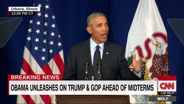 Obama attacks trump